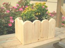 木制小花盆