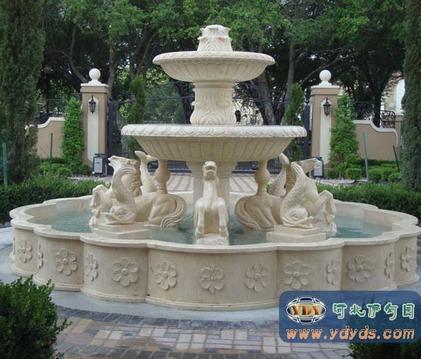 供应石雕喷泉/雕塑喷泉/景观雕塑/园林雕塑/欧式喷泉