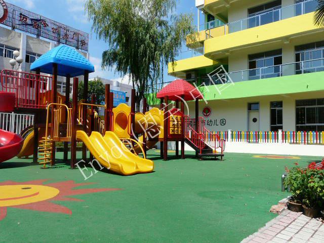 供应幼儿园室外运动地板图片