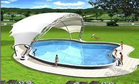 游泳馆膜结构设计制作