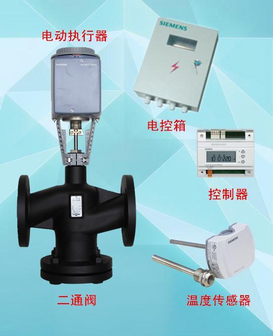 济南工达温控阀,西门子执行器,控制器,传感器图片