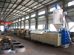 直径500-800PE管材生产线