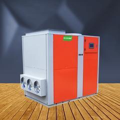 6匹低温整体顶出风热泵烘干冷干除湿机零下15度高效运行