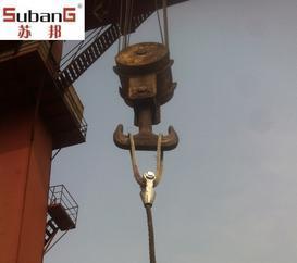 苏邦钢丝绳索具 浇铸索具 铝合金压制钢丝绳吊具