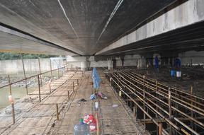 桥梁碳纤维加固 柱子粘钢加固