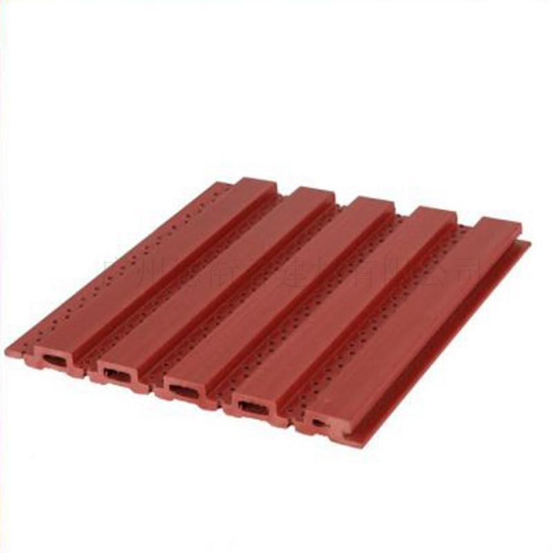 生态木塑木材料159小长城板吸音板