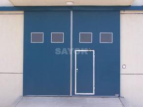 彩钢板门、钢大门、安徽厂房钢大门