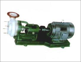 FSW、FSW-L型氟塑料合金化工杂质泵