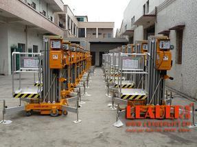 铝合金升降机 高空液压平台作业