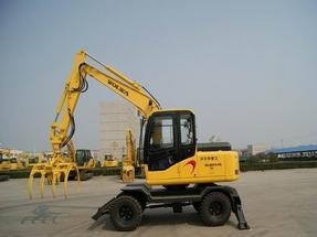 沃尔华厂家直销DLS880-9AG 7.2吨轮式蔗木装卸机