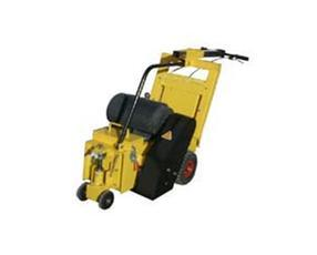 山东德州小型手扶式电动路面拉毛找平铣刨机 手推式马路铣刨机 混凝土拉毛机