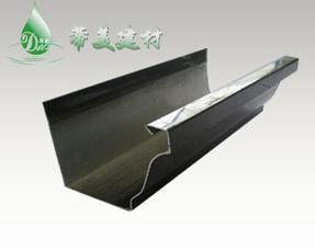 供应北京蒂美彩铝成品檐沟 雨水槽厂家