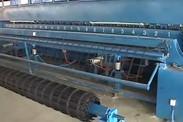 剥离力500N钢塑凸结点双向土工格栅厂家