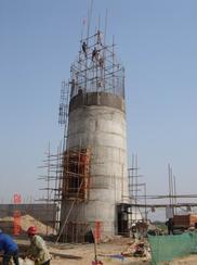 临汾烟囱拆除加高公司 锅炉砖烟筒才增高施工单位
