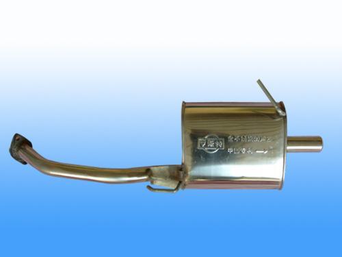 汽车尾部消声器结构图