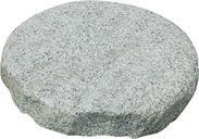 圆形灰色花岗岩脚踏石GCPG763