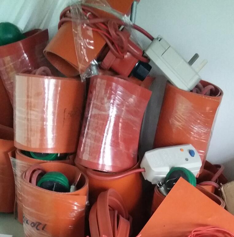 ar-drp-g硅橡胶油桶加热带