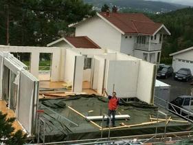 住宅装配化防潮防火墙板、氧化镁板