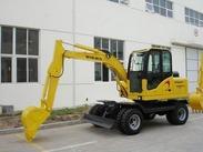 沃尔华厂家直销DLS865-9A 5.8吨轮式挖掘机