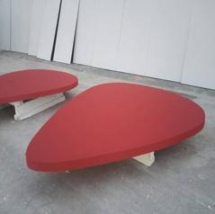 白色隔音毡 防火吸音板 影院玻纤吸音板 玻纤毛板