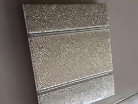 京赢碳纤维铝板导热电地暖模块干式铝板电地暖模块碳晶超导热