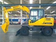 沃尔华厂家直销DLS100-9A 9.7吨轮式挖掘机