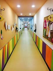 pvc地板 幼儿园地板 彩色卡通地板 正蓝地板厂家直销