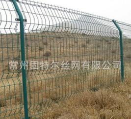 供应三角折弯护栏网 隔离栅栏