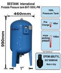 土耳其全不锈钢恒压罐 供水设备不锈钢气压罐 304不锈钢压力罐