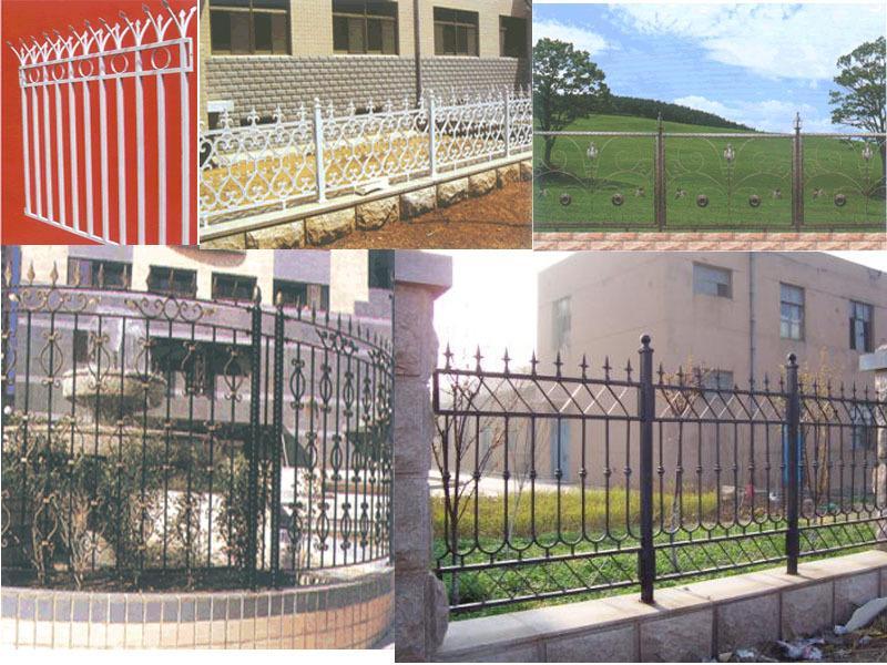 金属栏杆,铁艺围墙