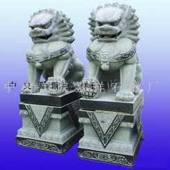 中国第一狮天安门狮石狮子京狮港狮汇丰门狮石雕蹲狮走狮爬狮