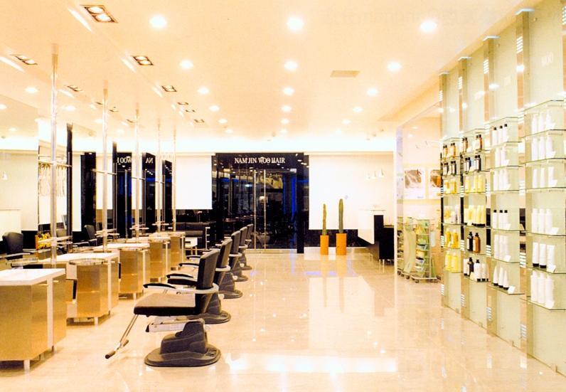 成都最专业美发店装修设计公司/高档美发店设计