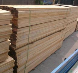 樟子松防腐木板材