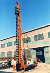 买小型螺旋钻机到河北新河新钻公司