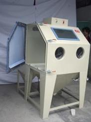 惠州 龙溪 博罗 淡水锌工件 铝产品打沙 小五金批量处理喷砂机