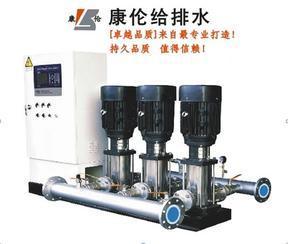变频恒压调速给水设备