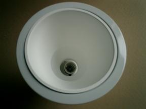 纳米反光涂层喷涂处理LED射灯灯罩 解决眩光危害
