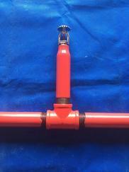 公司设备迈克喷淋头座、迈克喷淋头短管、消防喷淋系统