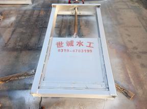 插板式不锈钢闸门插板闸门-安装