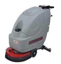 荆州食品厂大理石地面电瓶洗地车刷地机Smart450B