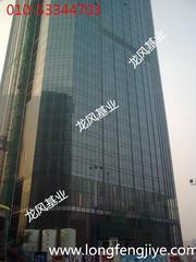 建筑幕墙—玻璃更换—固定改开启