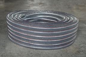 PVC钢丝增强塑料软管生产 塑料软管销售