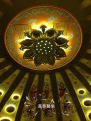 音乐厅GRG吊顶,GRG吸声板吊顶