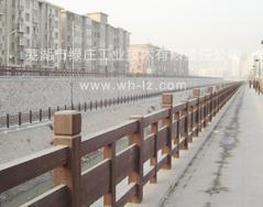仿木护栏,河道栏杆,城区护栏,隔离护栏,河道护栏