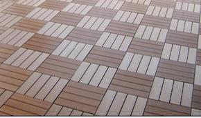 北京防水防滑木塑拼装地板