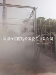 混凝土工厂加湿除尘设备