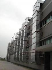 深圳白铁工程,白铁皮风管制作及安装
