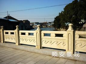 仿石护栏混凝土栏杆景观护栏