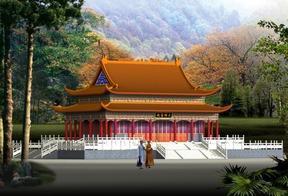 寺院规划设计|寺院设计,寺庙设计