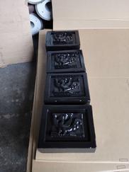 泡沫雕塑道具喷涂聚脲涂料作表层保护
